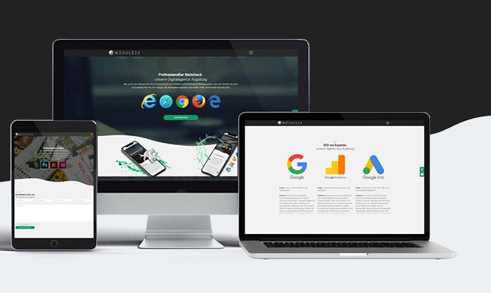 Digitalagentur augsburg webentwicklung website